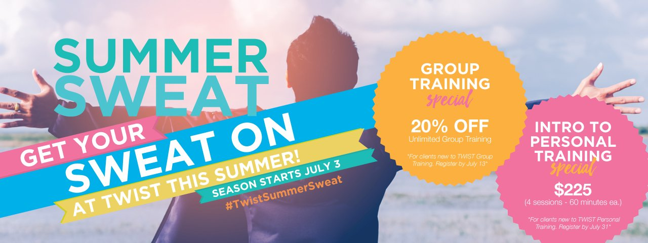 Summer Group Training & Personal Training Discount